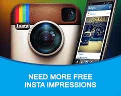 Free Instagram Impressions